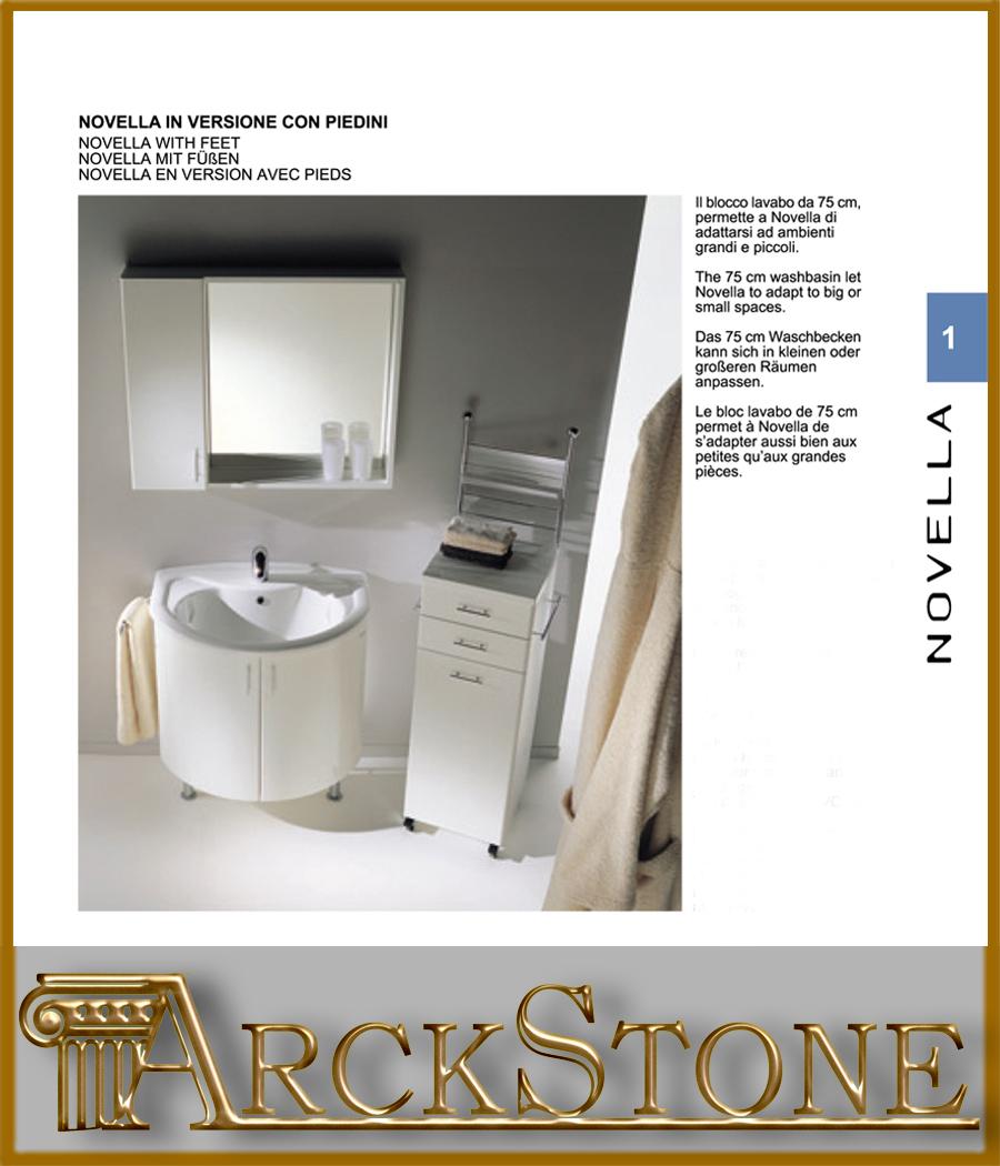 Arckstone mobile bagno lavanderia lavabo lavatoio for Montegrappa arredo bagno