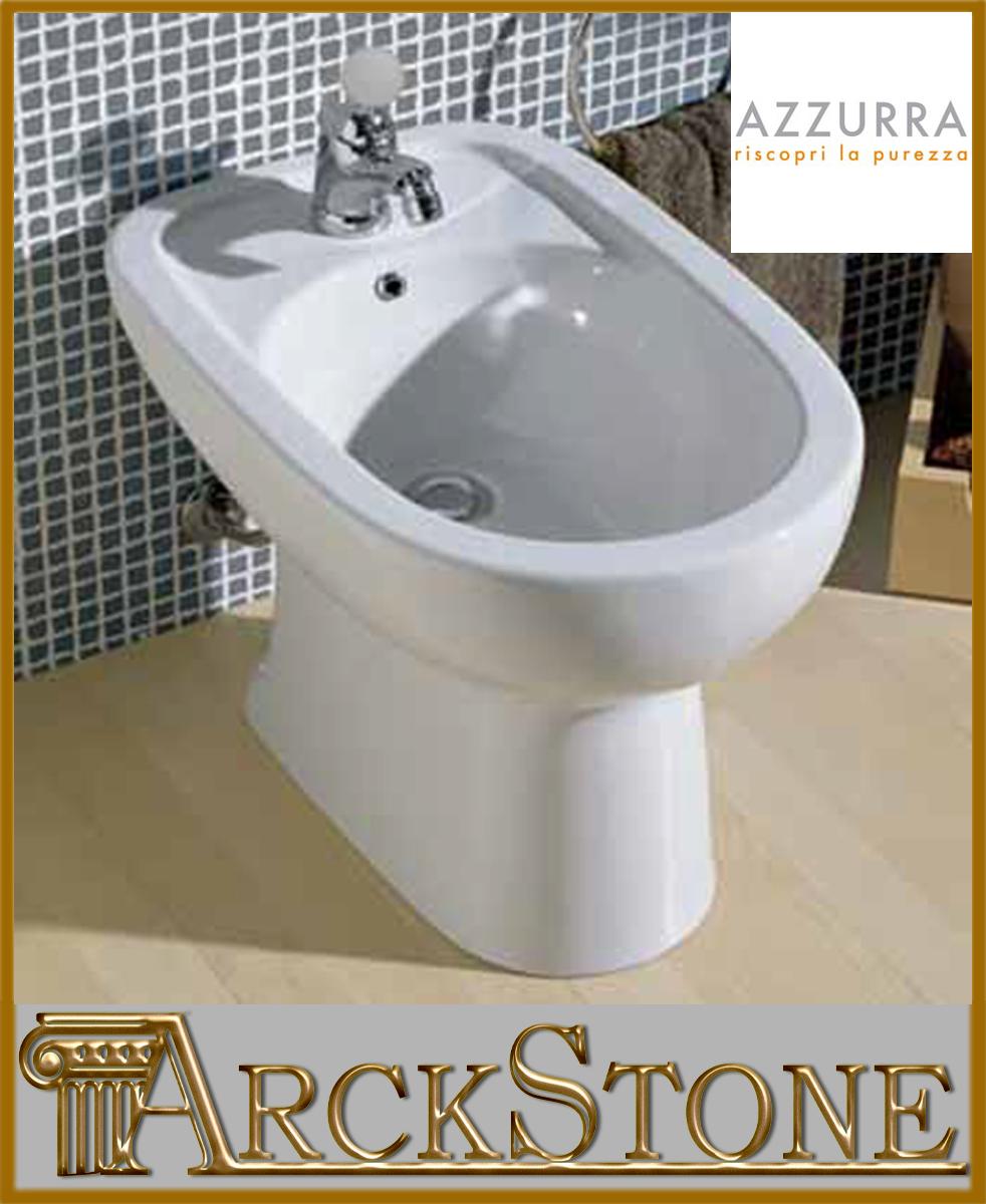 Arckstone igienici sanitari bagno bidet terra ceramica - Bagno senza bidet ...