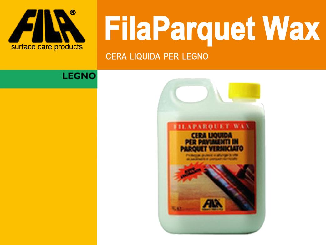 Fila filaparquet wax lt 1 cera liquida per pavimenti in - Cera para parquet ...