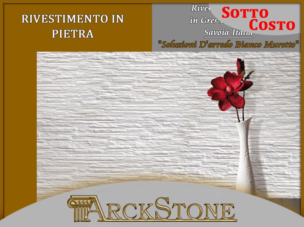 ARCKSTONE Rivestimento Piastrella Mattonella Effetto Pietra in ...