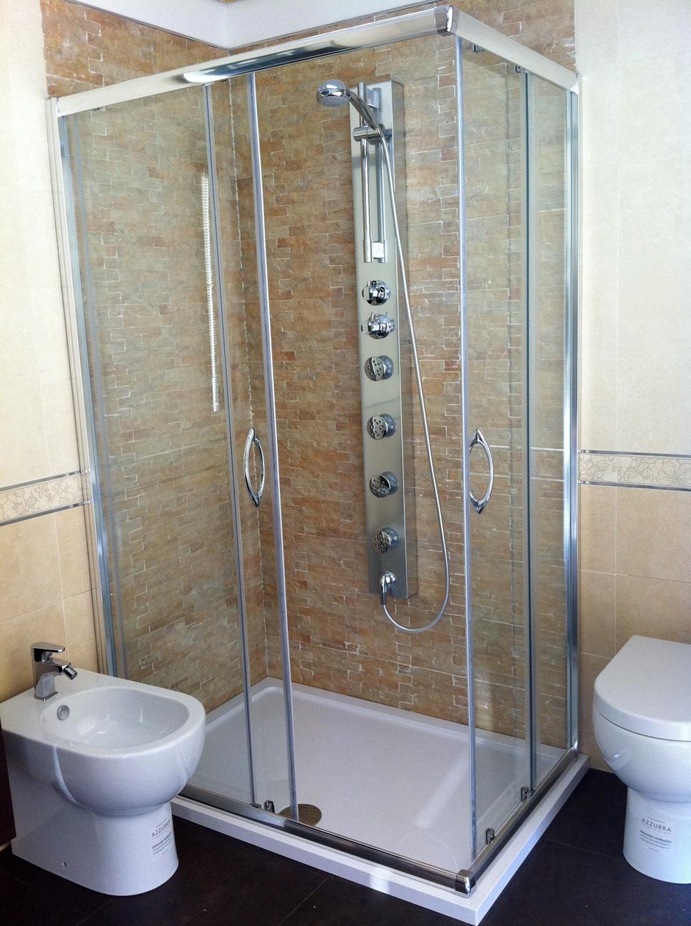 Arckstone offerta sottocosto rivestimento bagno pianella pietra gres petra arena ebay - Rivestimenti per doccia ...