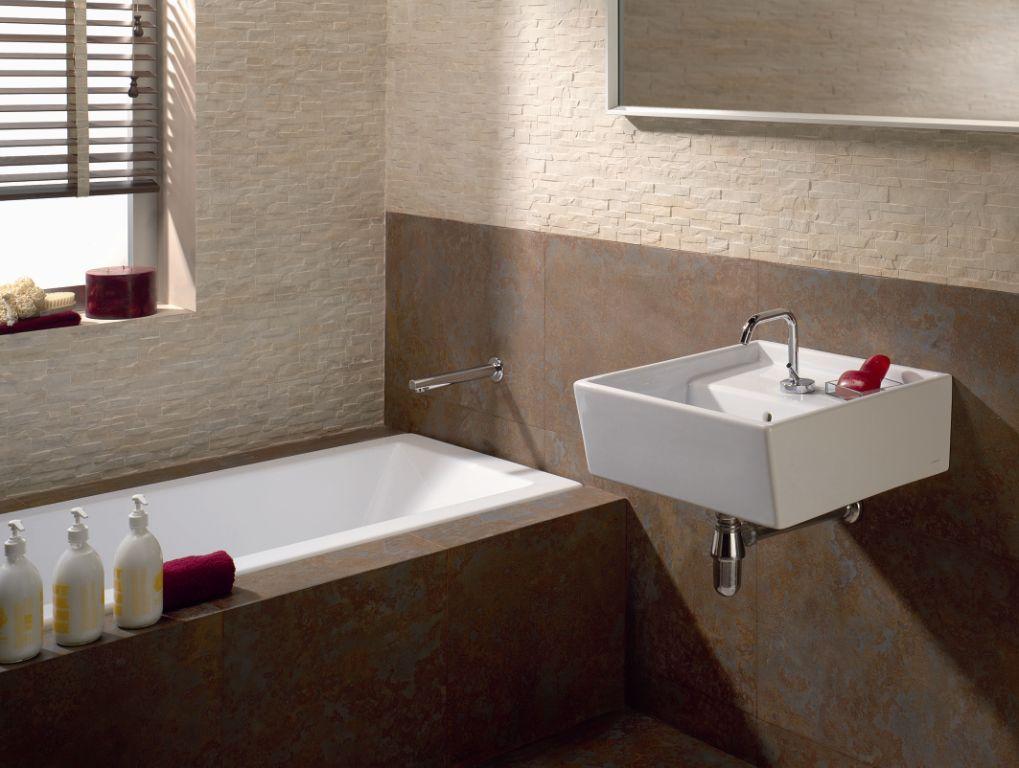 Arckstone offerta sottocosto rivestimento mattonella - Bagno rivestimento pietra ...