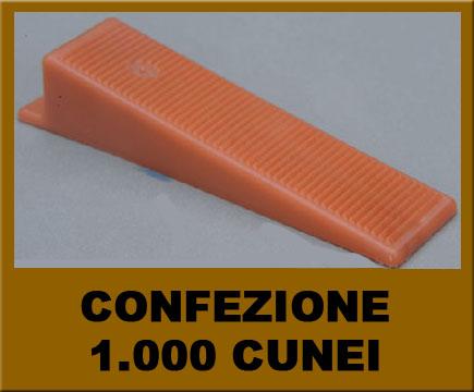 Arckstone r l s raimondi level system confezione 1000 - Cunei per piastrelle ...