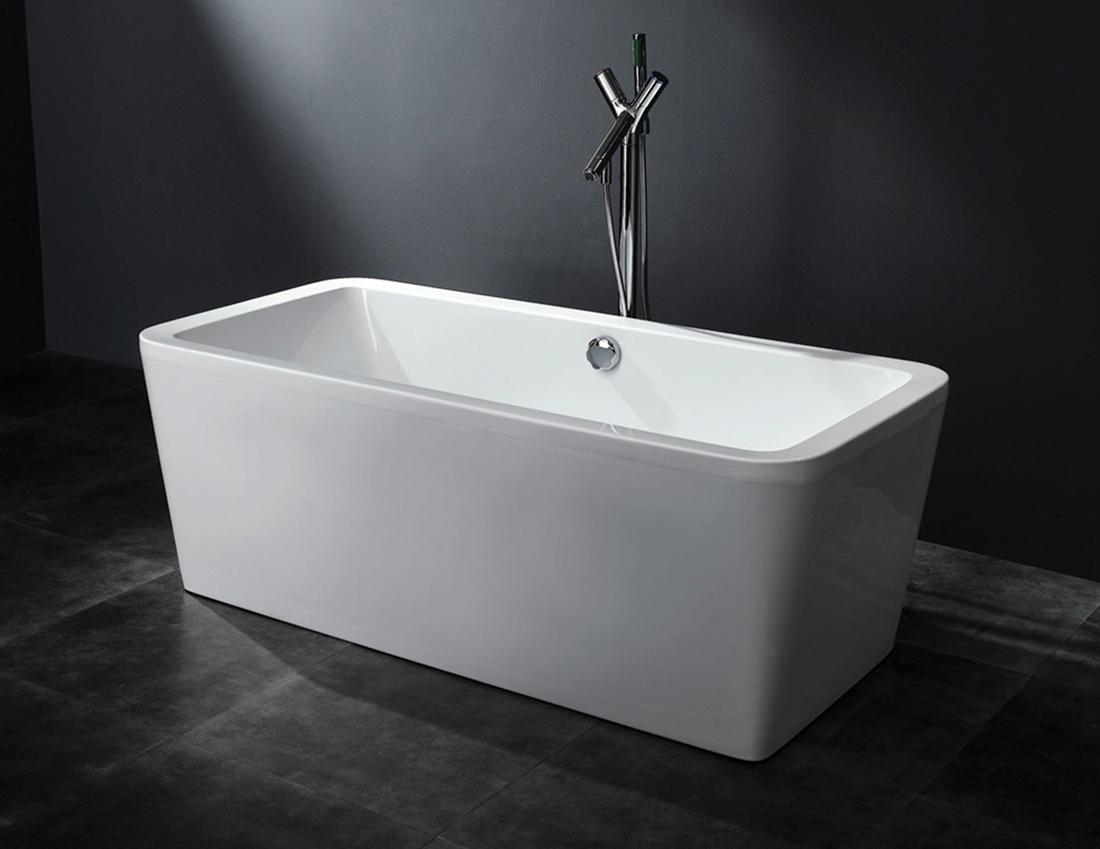 Arckstone vasca no idro arredo bagno rettangolare acrilico - Ricoprire vasca da bagno ...