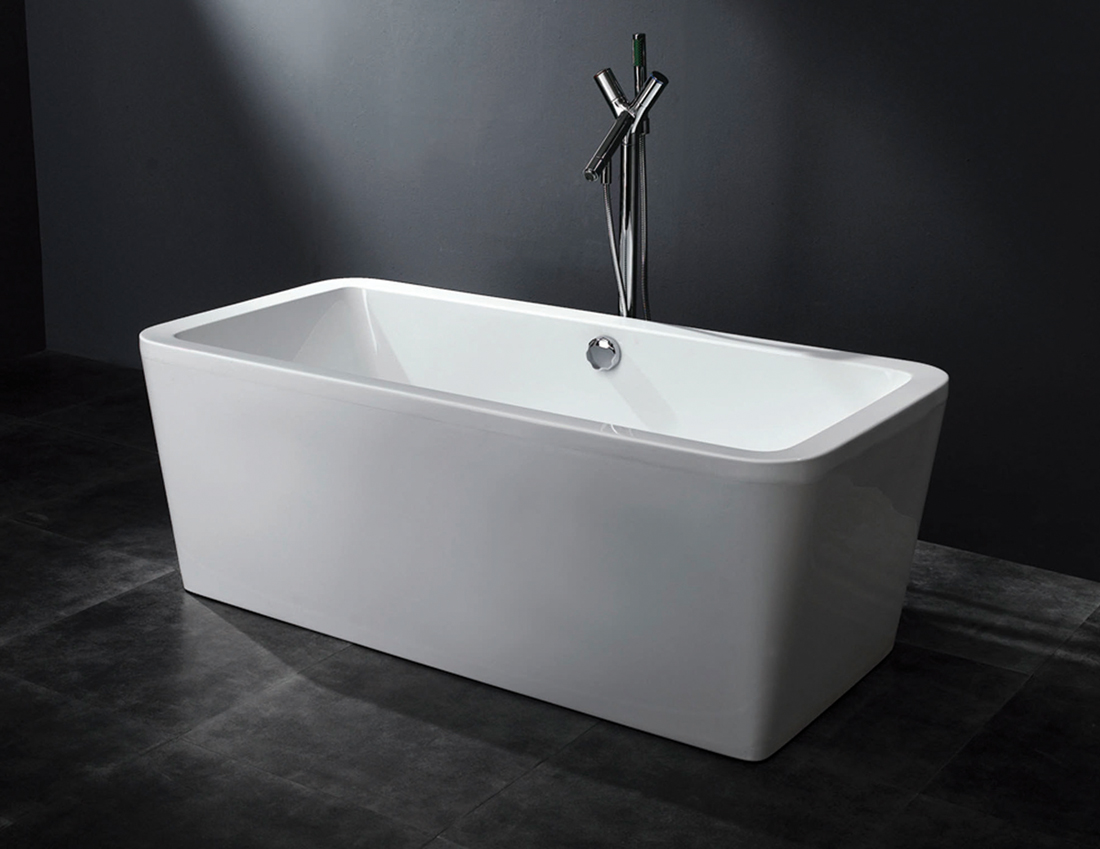 Arckstone vasca no idro arredo bagno rettangolare acrilico bianco design moderno ebay - Vasca idro da esterno ...