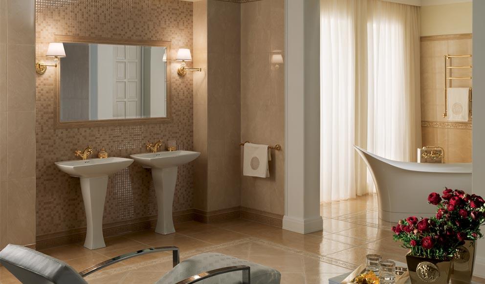 Arckstone i marchi vendita di pavimenti decorazioni for Arredo bagno versace