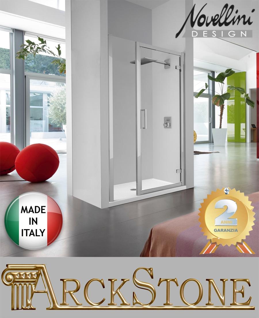 arckstone t r dusche nische klopfer transparent silver. Black Bedroom Furniture Sets. Home Design Ideas
