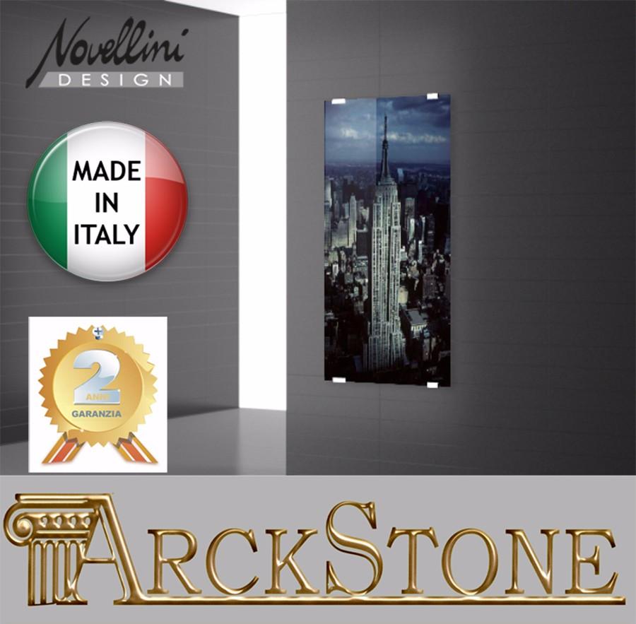 Arckstone radiatore elettrico cristallo telecomando novellini sole a0011 50x100 ebay - Arte sole cucine ...