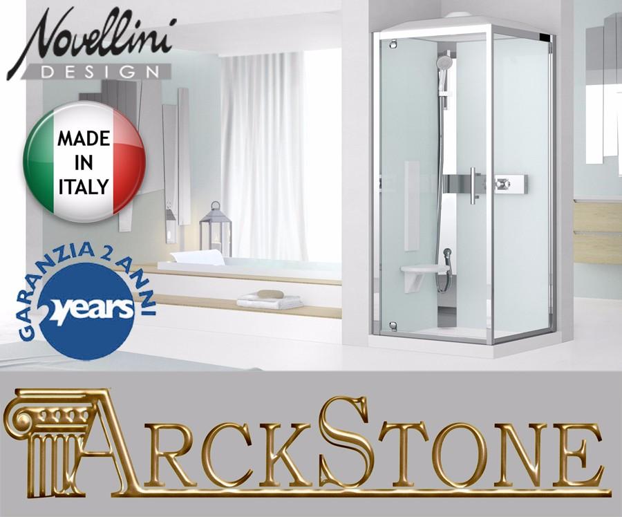 arckstone kabine dusche ante hydro hammam sauna dampf novellini glax 3 gf80 gf90 ebay. Black Bedroom Furniture Sets. Home Design Ideas