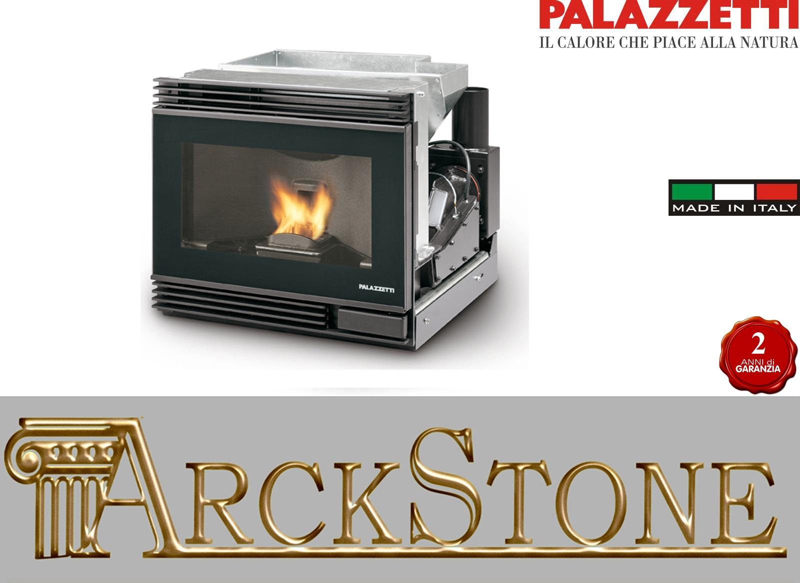ARCKSTONE Ecofire Einfügen von Feuerstelle Pellet Palazzetti Small ...