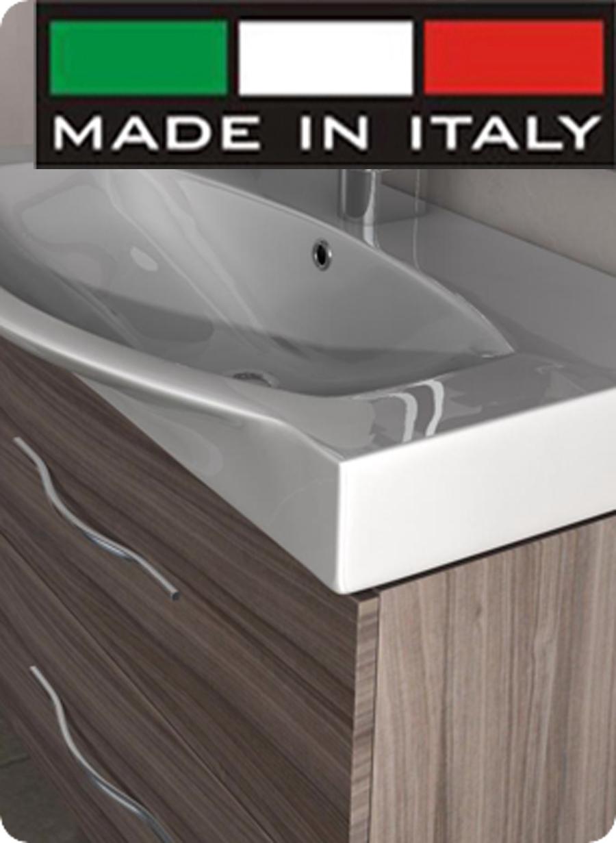 Mobile Bagno New York dettagli su arckstone arredo mobile bagno vasca new york bianco frassino  larice grigio 84 cm