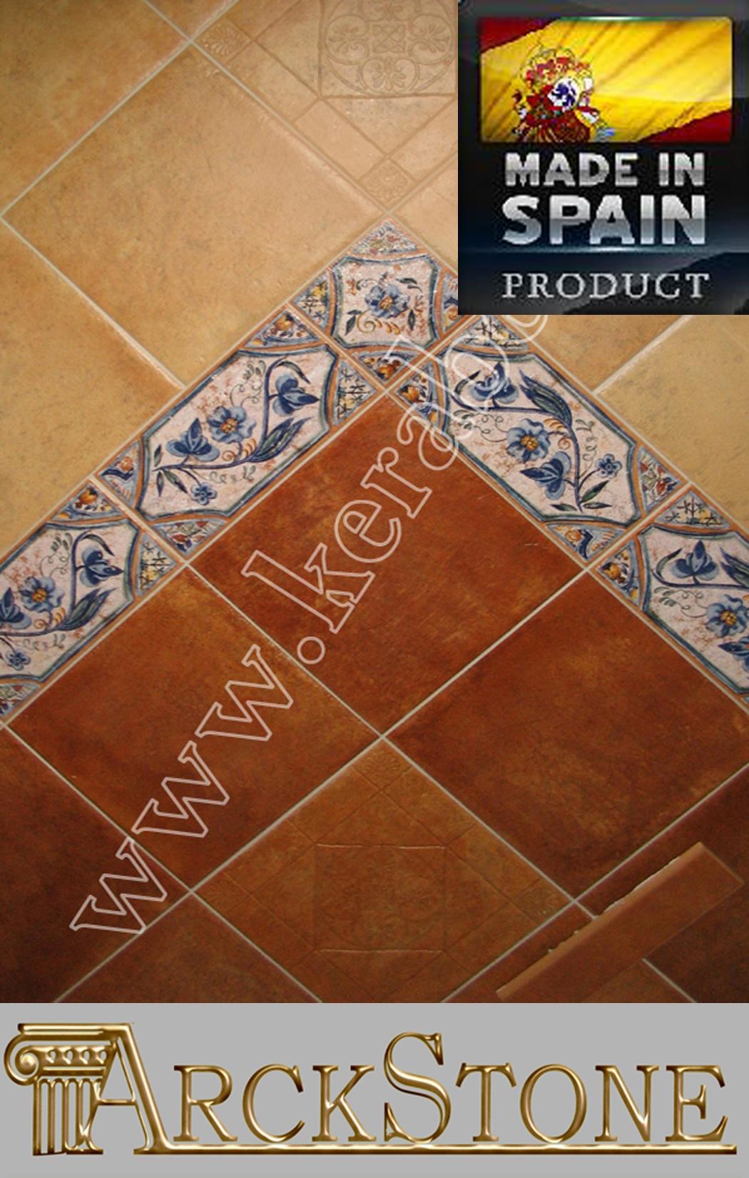 Arckstone piastrelle pavimento in gres porcellanato cotto keraben jacobeo olite ebay - Pavimento effetto bagnato ...