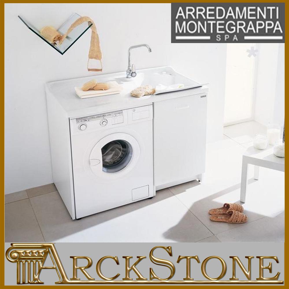 Arckstone lavatoio coprilavatrice per bagno montegrappa for Coprilavatrice alluminio
