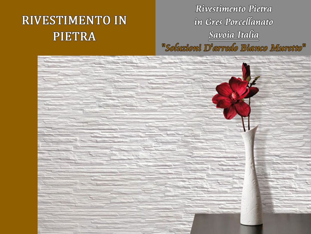 Muretto In Pietra Interno dettagli su arckstone mattonella interno effetto pietra salone savoia  italia muretto bianco