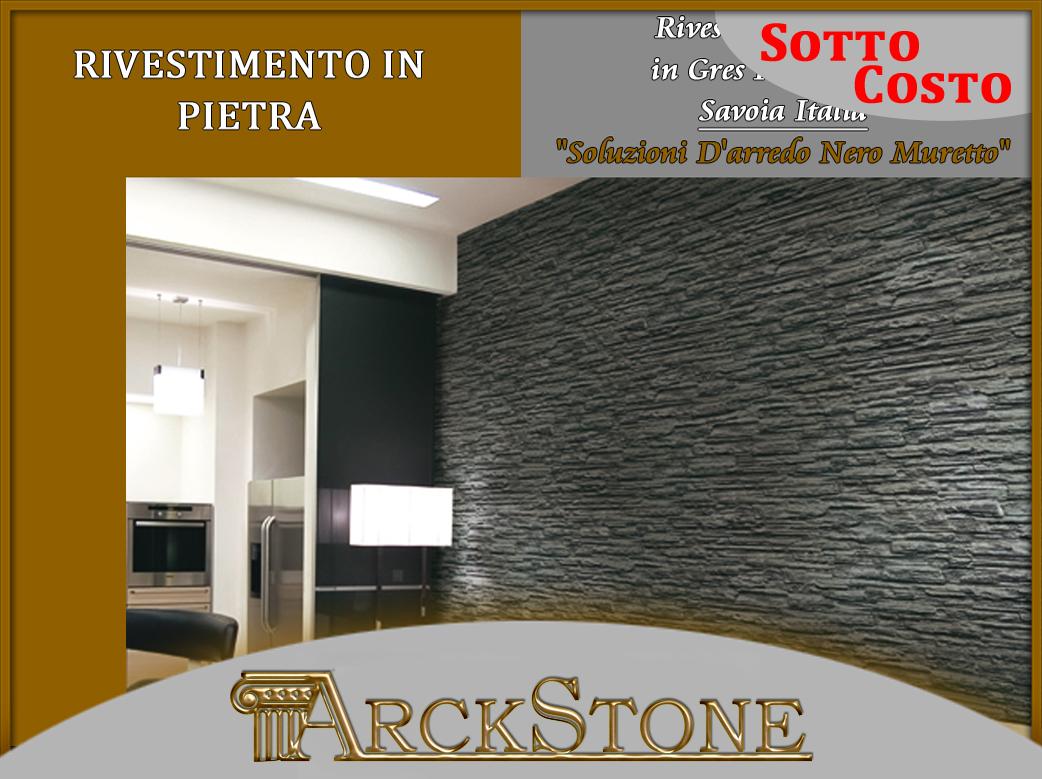 Arckstone mattonella bagno pietra savoia italia soluzioni for Soluzioni d arredo soggiorno